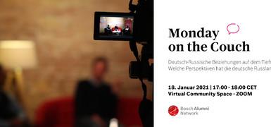 Monday on the couch: Welche Perspektiven hat die deutsche Russlandpolitik?