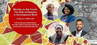 Monday on the Couch: The Role of Diaspora in Development Work